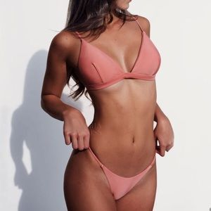 Other - Dusty rose string bikini! NWT. Size small